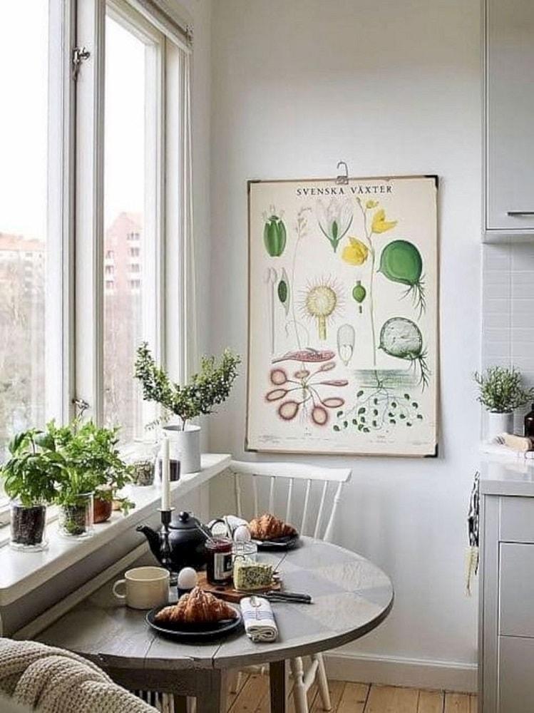 Come inserire il tavolo in una cucina piccola 10 idee da - Tavolo pieghevole cucina ...