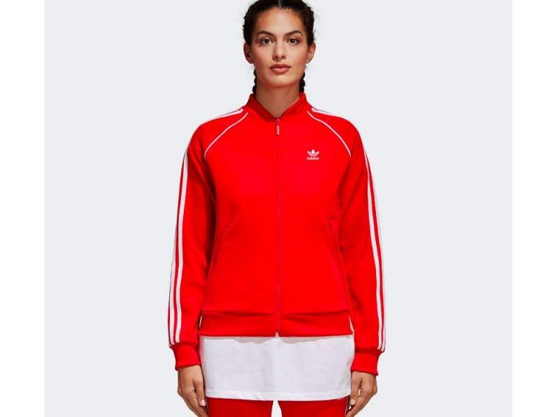 tuta-adidas-giacca-rossa