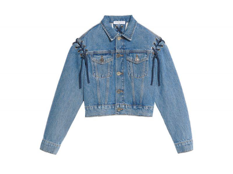 giacca jeans zara donna