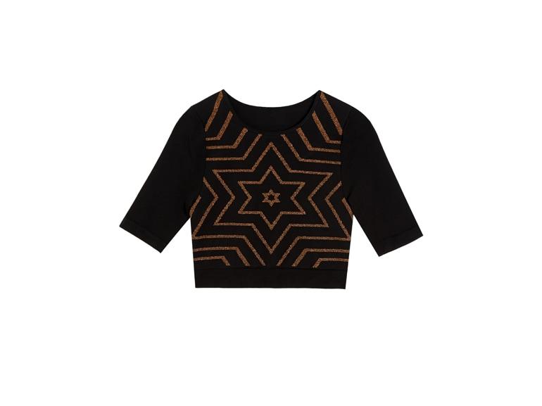 ASOS-4505-Yoga-seamless-t-shirt-with-lurex-stars-£25