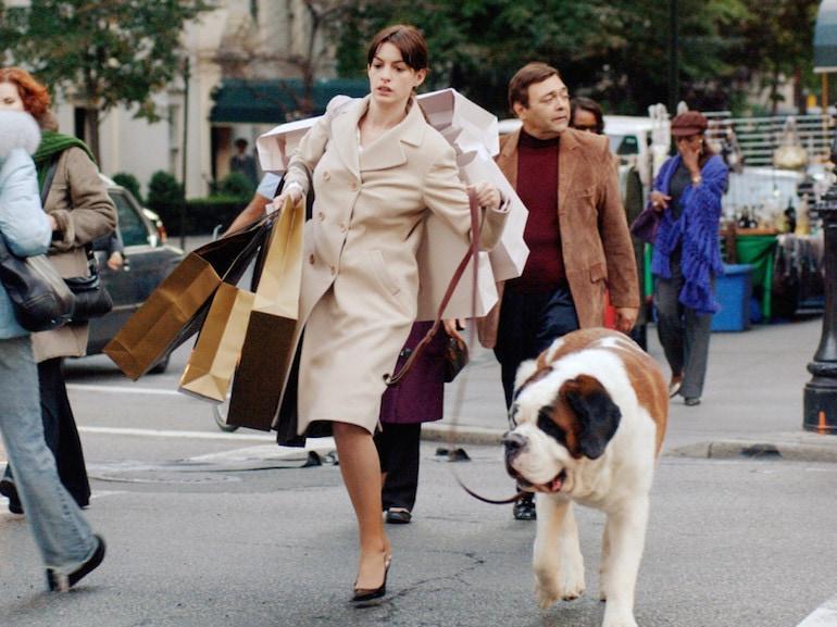Anne Hathaway cane