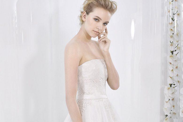 Bustier mon amour: l'abito da sposa ha il bustino