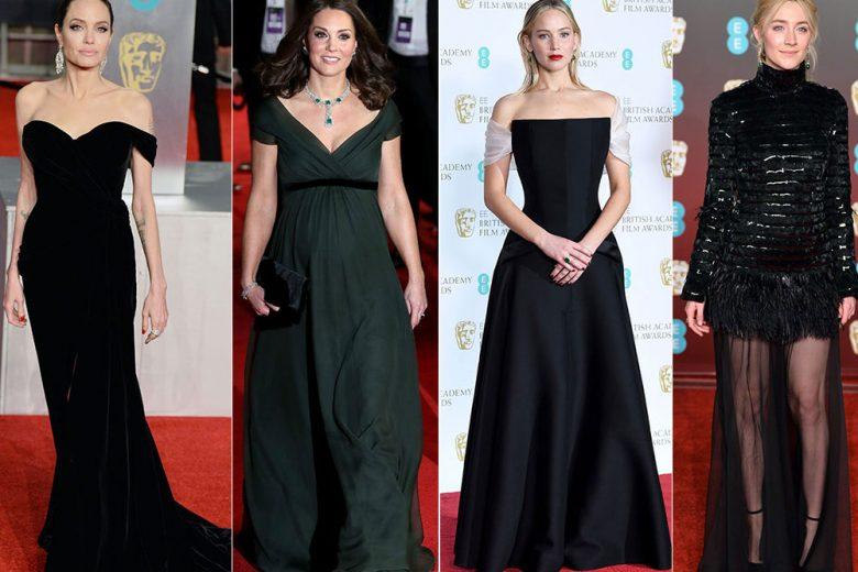 BAFTA 2018: tutti i look sul red carpet