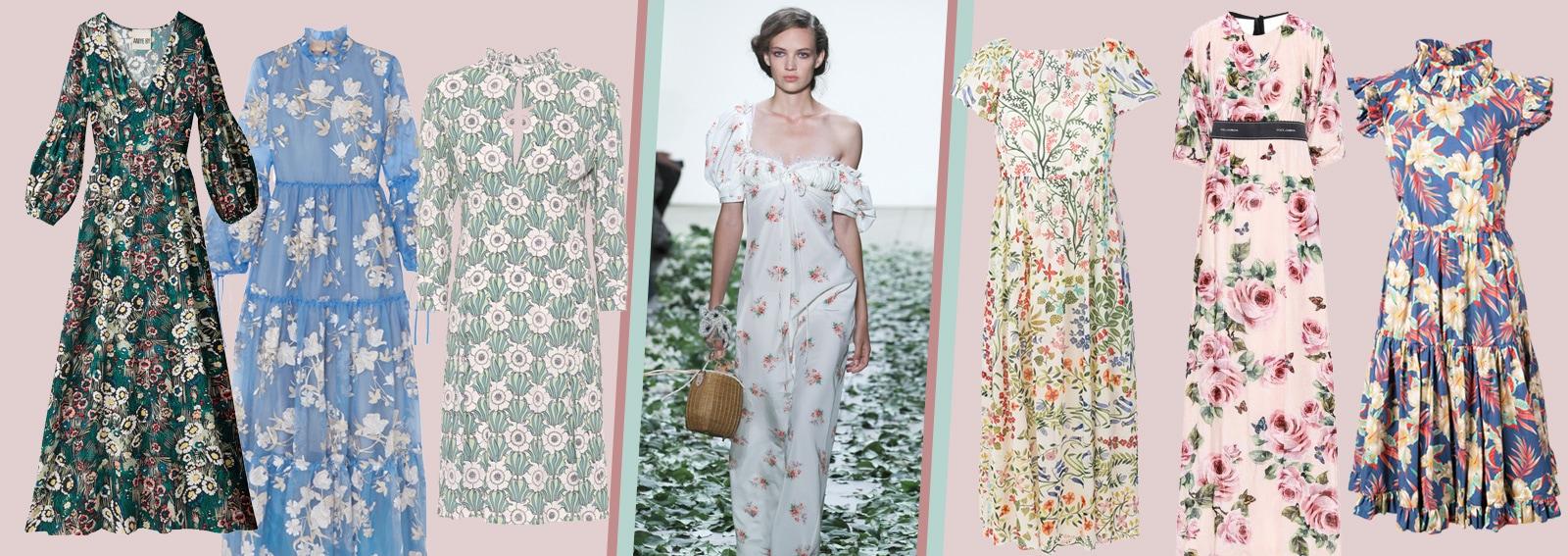 0007410f35 Vestiti a fiori: lunghi o corti, i modelli più belli della Primavera ...