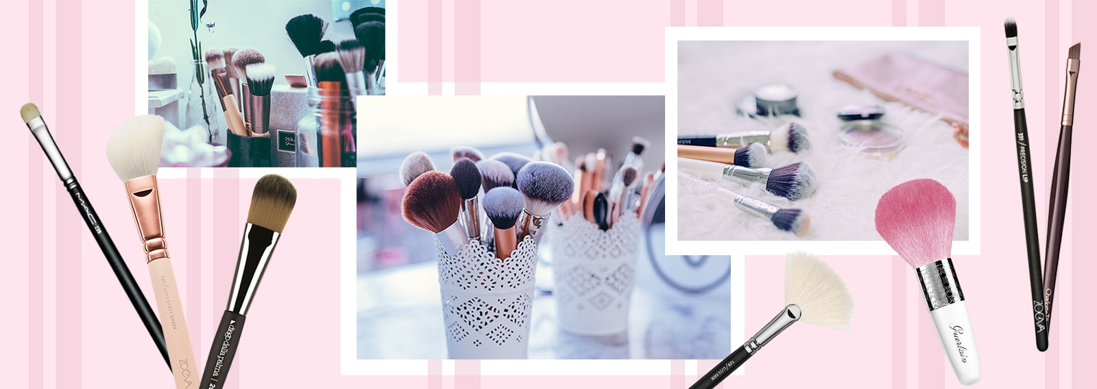 Come si usano i pennelli per il make up