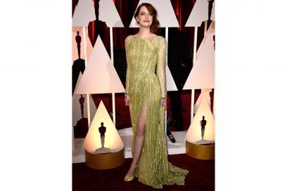 EMMA STONE 2015 elei saab couture