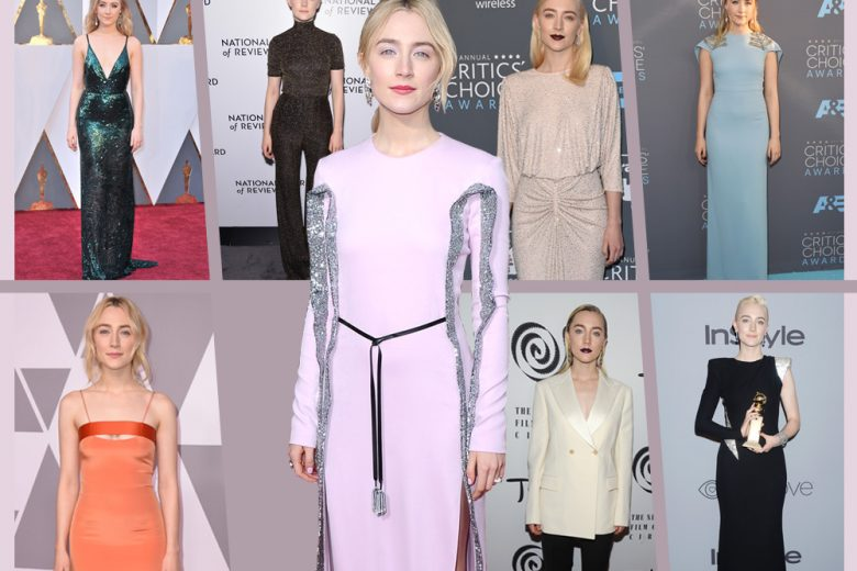 "Saoirse Ronan: i look più belli della protagonista di ""Lady Bird"""