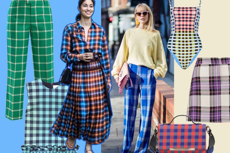 """Check multicolor: il trend """"a quadretti"""" per la Primavera 2018"""