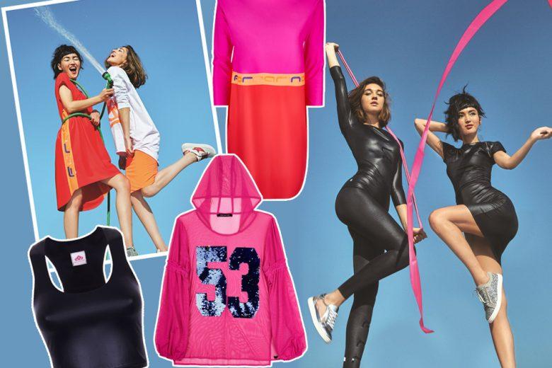 FORNARINA lancia Freetime, la nuova linea Athleisure colorata e cool