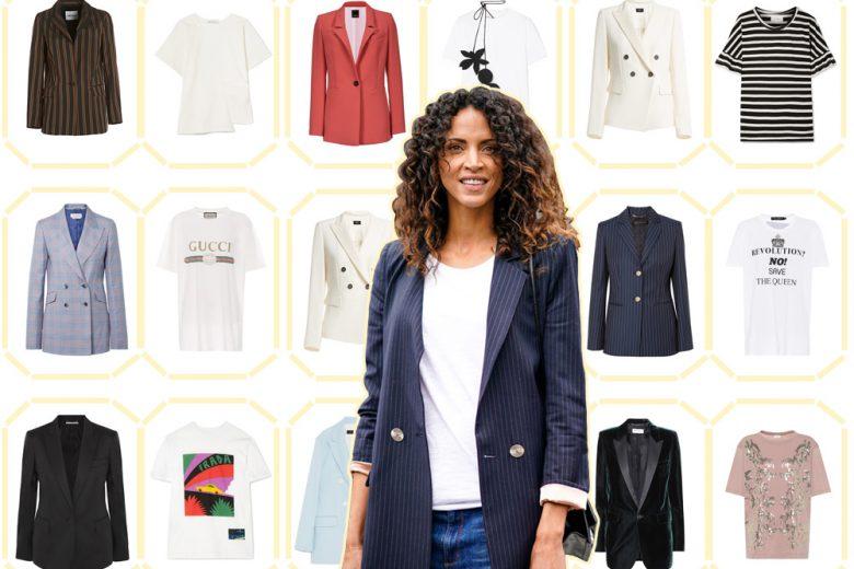 Blazer e t-shirt: 8 abbinamenti cool da provare subito