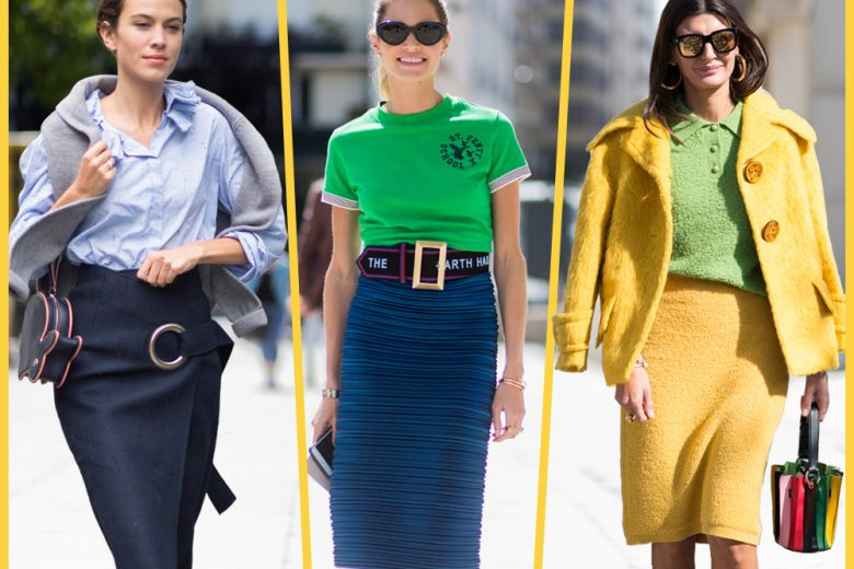 Come indossare la gonna longuette: 6 look da copiare