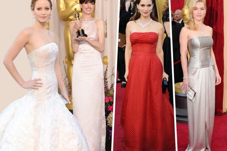 Oscar: i look più belli degli ultimi anni visti sul red carpet