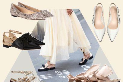 Flat & chic: le scarpe basse più eleganti per la primavera