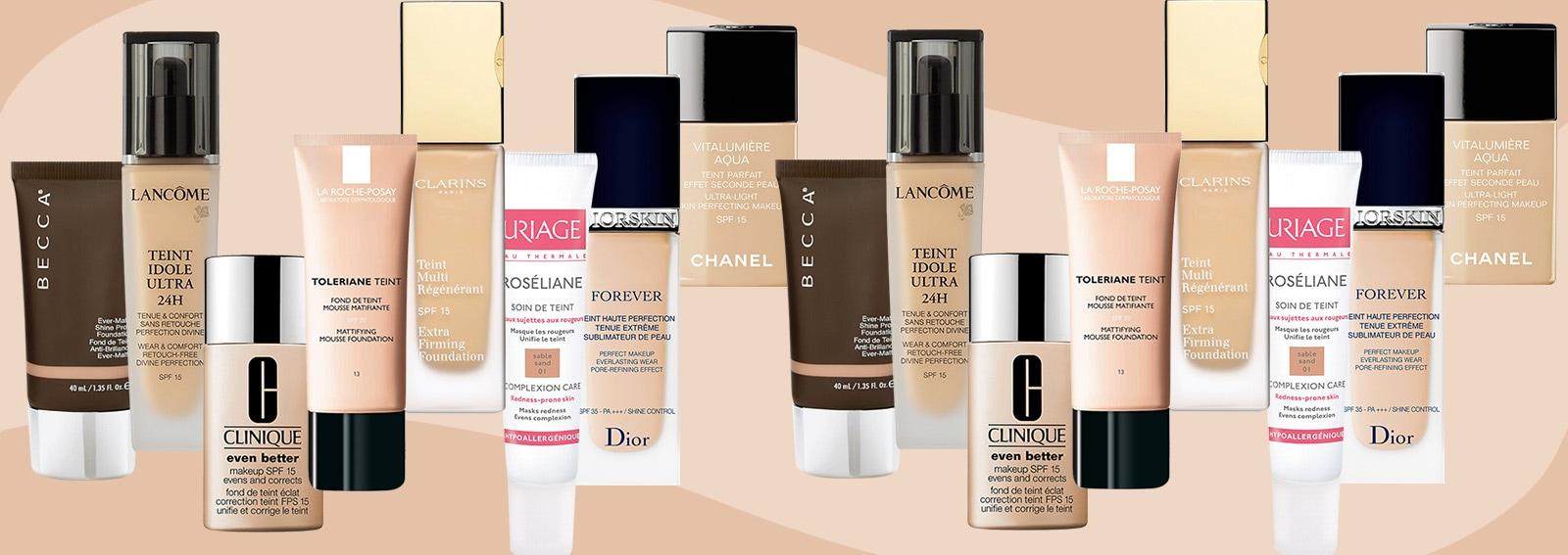 Fondotinta scegliete il prodotto che fa per voi in base al tipo di pelle-desktop