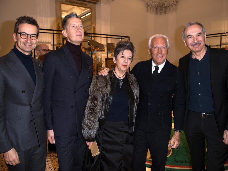 ITALIANA-OPENING-LUNCH_F.Marchetti;S.Tonchi;MLFrisa;G.Armani;C.Capasa
