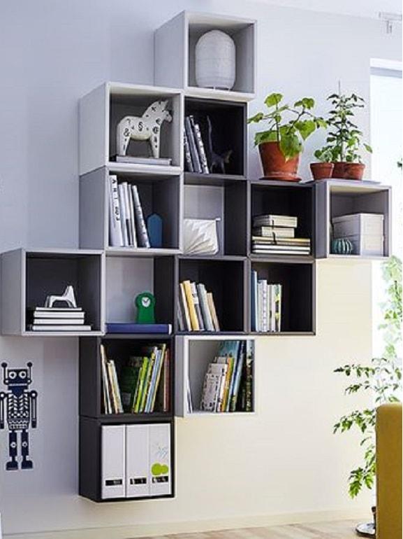 Idee pareti IKEA Eket