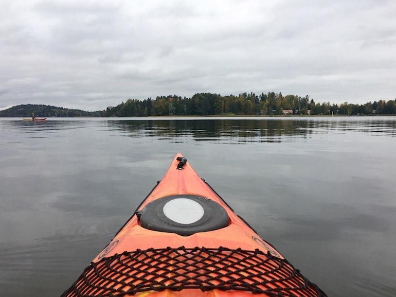 Lahti lago Finlandia viaggio