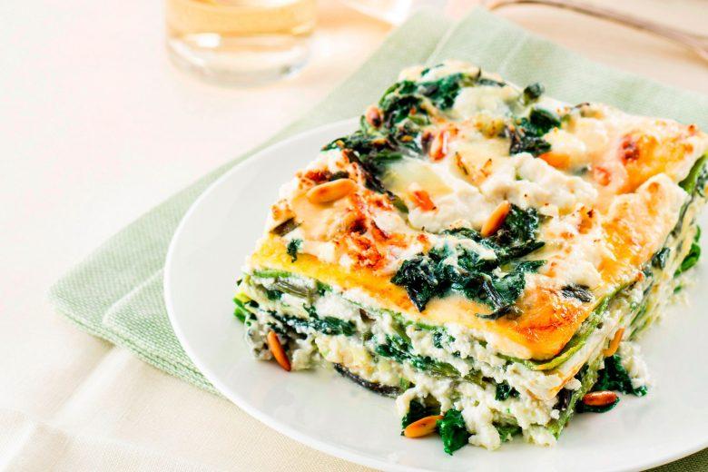 Lasagne di crepes al gorgonzola