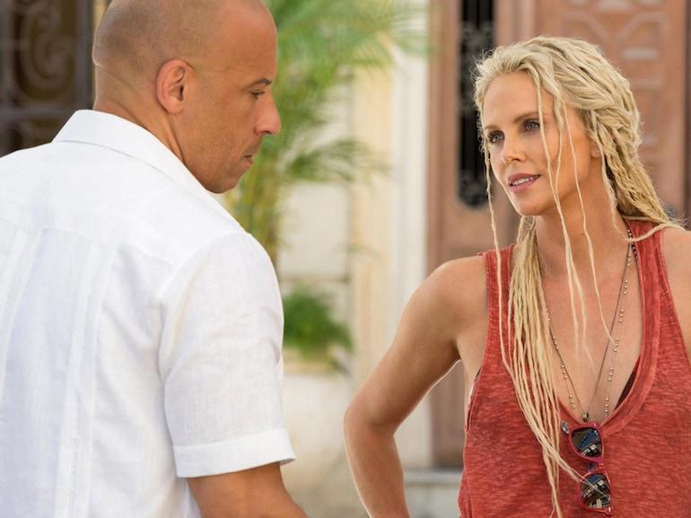 Vin Diesel camicia bianca