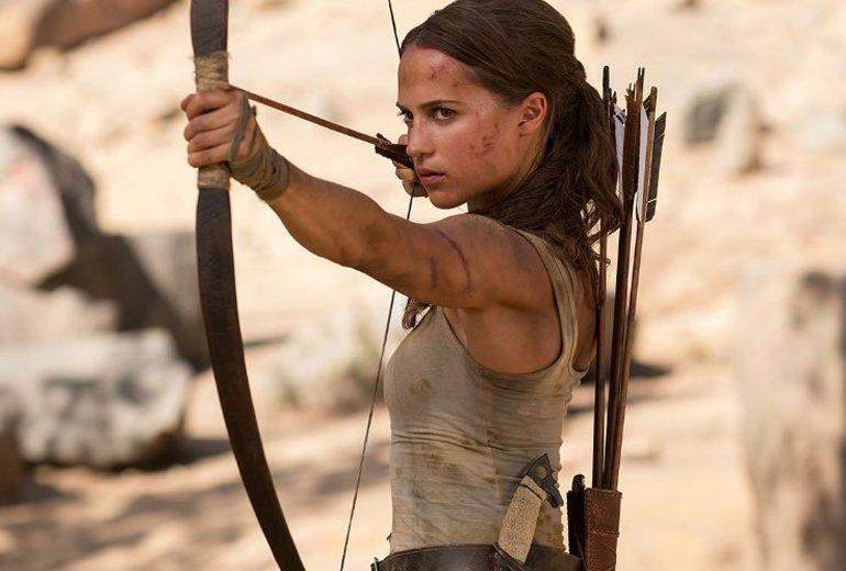 Ecco come si è allenata Alicia Vikander per avere un corpo da Tomb Raider