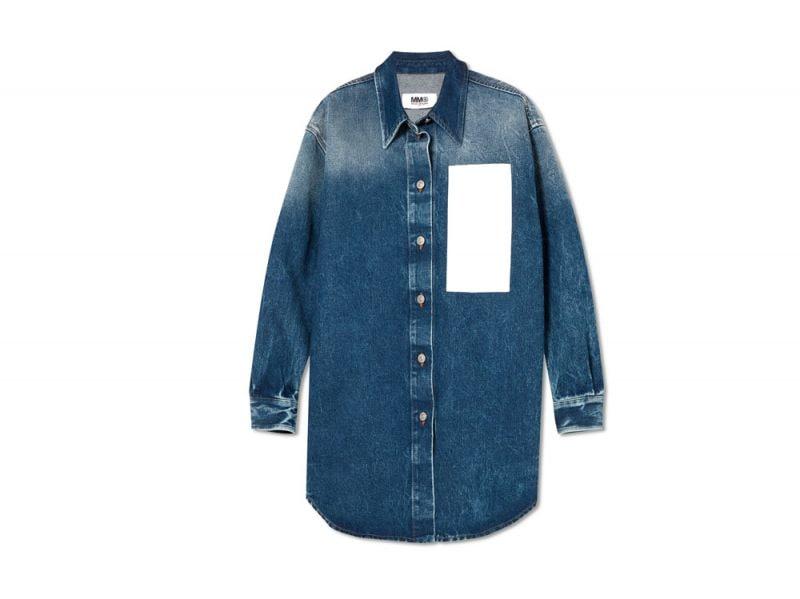 camicia-over-denim-MM6-MAISON-MARGIELA-su-net-a-porter