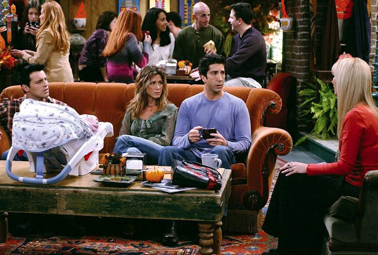 Friends è una serie razzista? Ross difende lo show dalle critiche