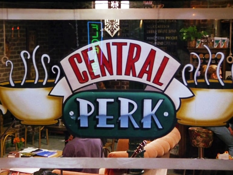 cover apre vero central perk friends mobile