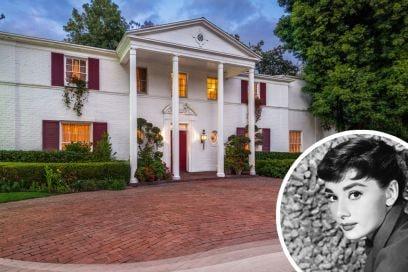 La casa di Audrey Hepburn a Beverly Hills