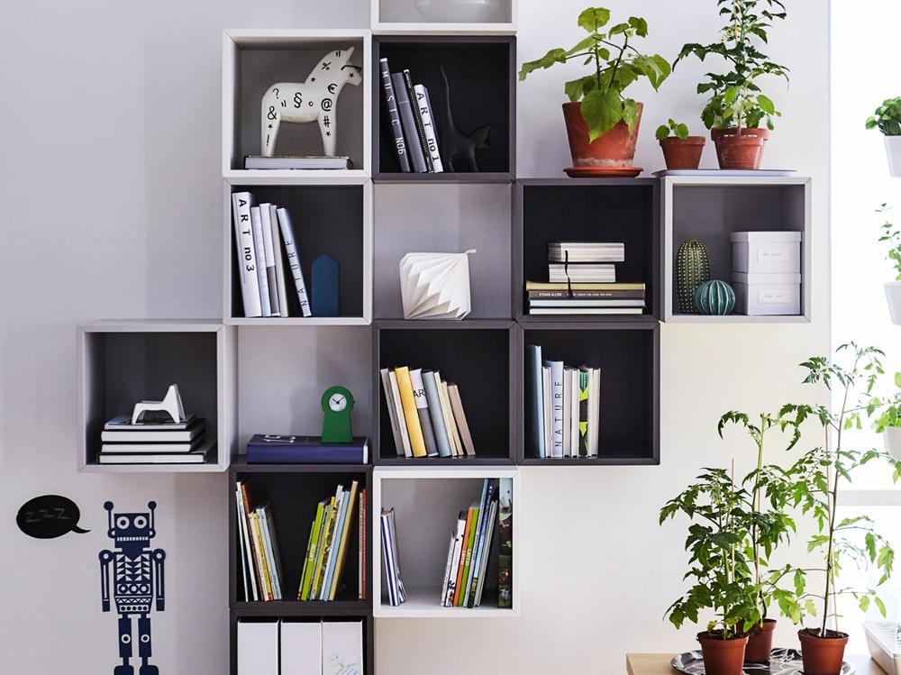 10 idee originali per decorare le pareti di casa con ikea - Decorare una parete di casa ...