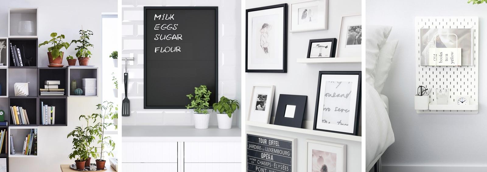 10 Idee Originali Per Decorare Le Pareti Di Casa Con Ikea Grazia It