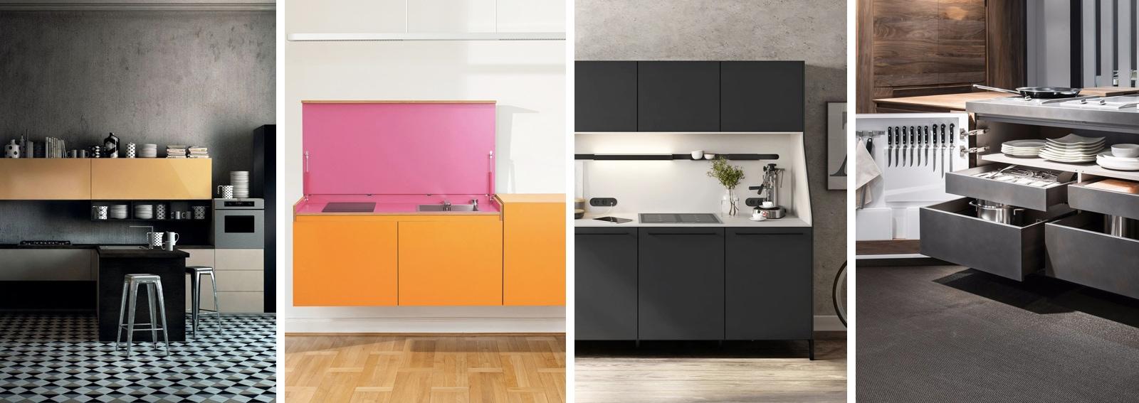 10 idee per arredare una cucina molto piccola for Idee x arredare