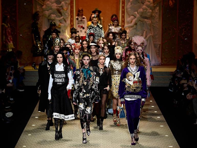 Dolce & Gabbana: droni e devozione