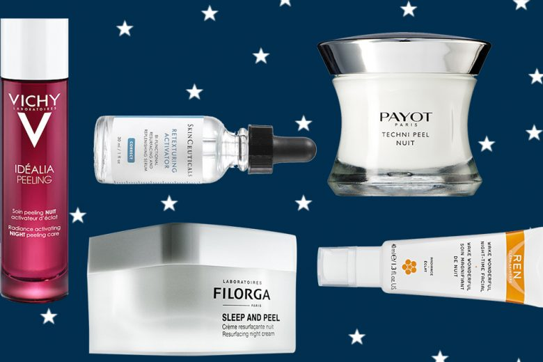 Peeling viso: rinnovare la pelle durante la notte