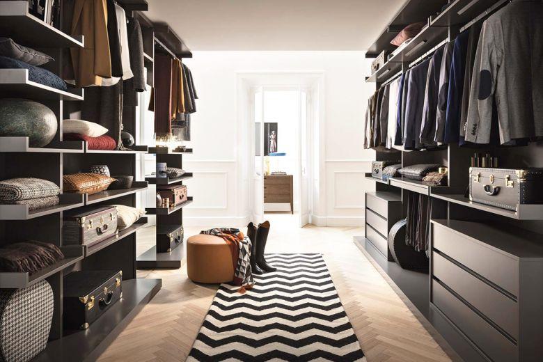 Come progettare la cabina armadio: le 5 regole fondamentali