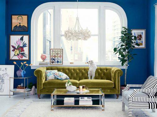 Pareti Salotto Verde : Colori da abbinare nell arredamento del salotto grazia