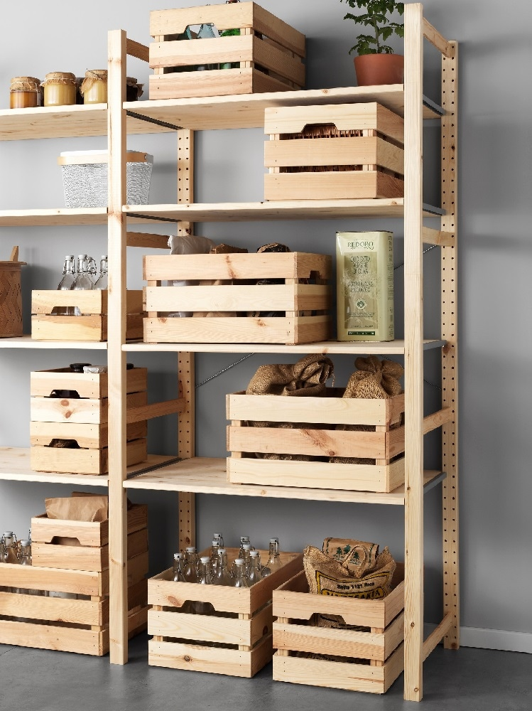 Scaffali Dispensa Ikea.Idee Per Organizzare La Dispensa Con Ikea Grazia It