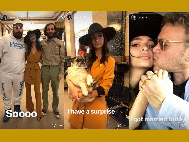 Matrimonio a sorpresa per Emily Ratajkowski: luna di miele in Costiera Amalfitana?