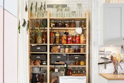 Idee per organizzare la dispensa con IKEA