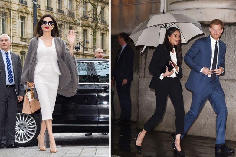 Meghan Markle, Angelina Jolie e le altre star meglio vestite della settimana