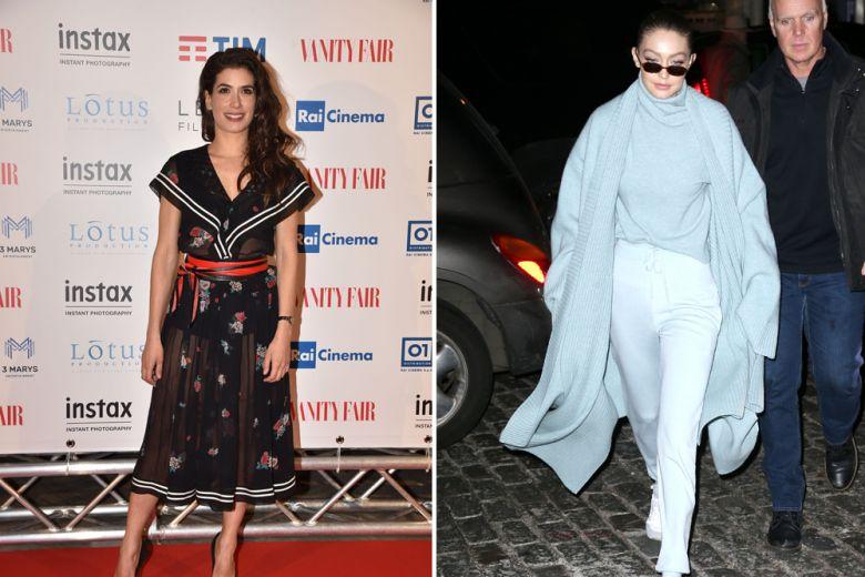 Giulia Michelini, Gigi Hadid e le altre star meglio vestite della settimana