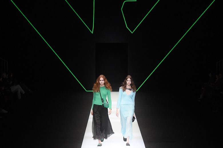 Emporio Armani: green is the new black