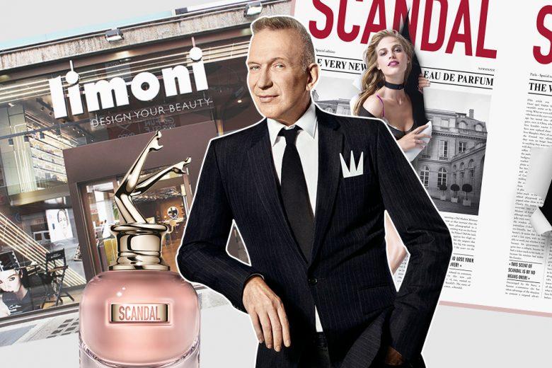 Scopri il profumo Scandal e incontra Jean Paul Gaultier da Limoni