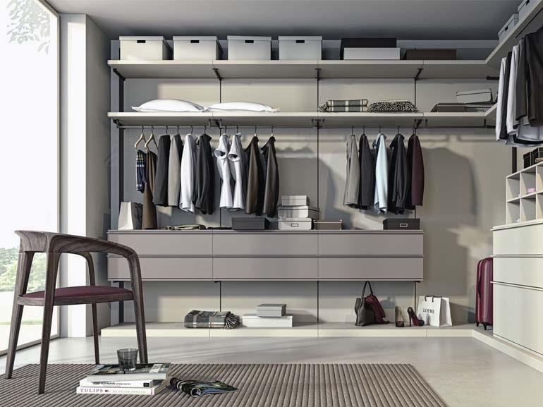 Cabine armadio: progetti per camera. Cabine su misura, stile, trendy ...