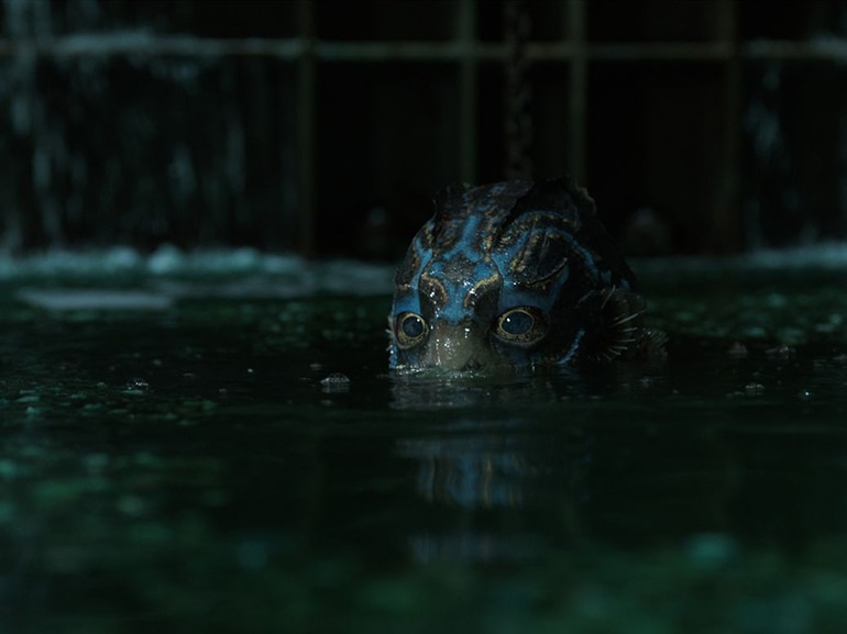 shape of water mostro