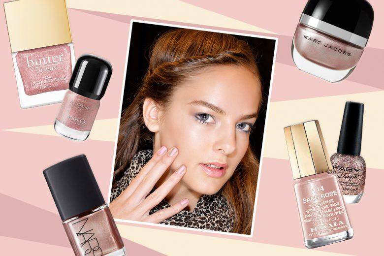 Smalti oro rosa: i più belli e scintillanti del momento per una manicure preziosa