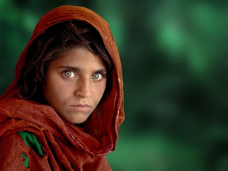 steve mccurry ragazza afgana