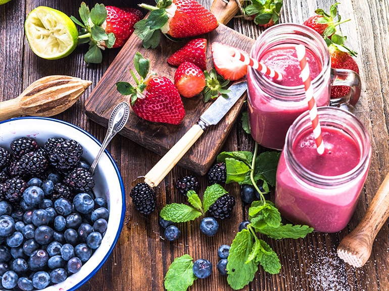 veggie planet smoothie frutta