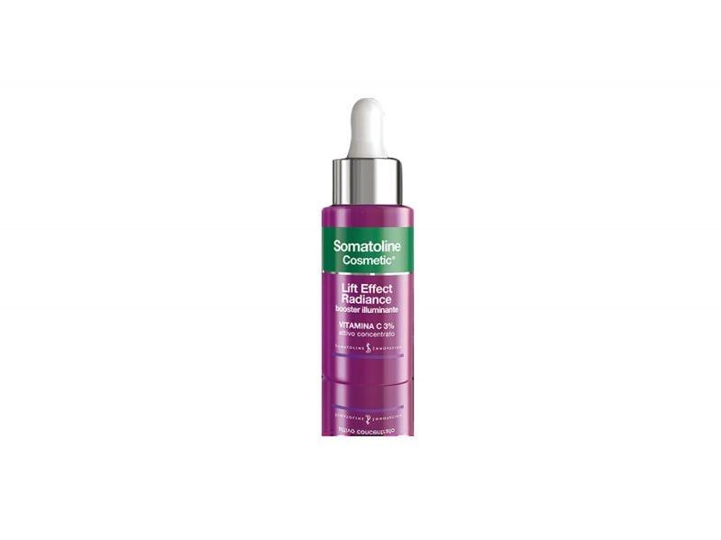 vitamina-c-larma-segreta-per-una-pelle-luminosa-e-compatta-Somatoline Cosmetic Lift Effect Radiance booster illuminante