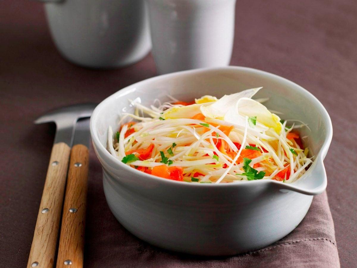 Asparagi bianchi in insalata