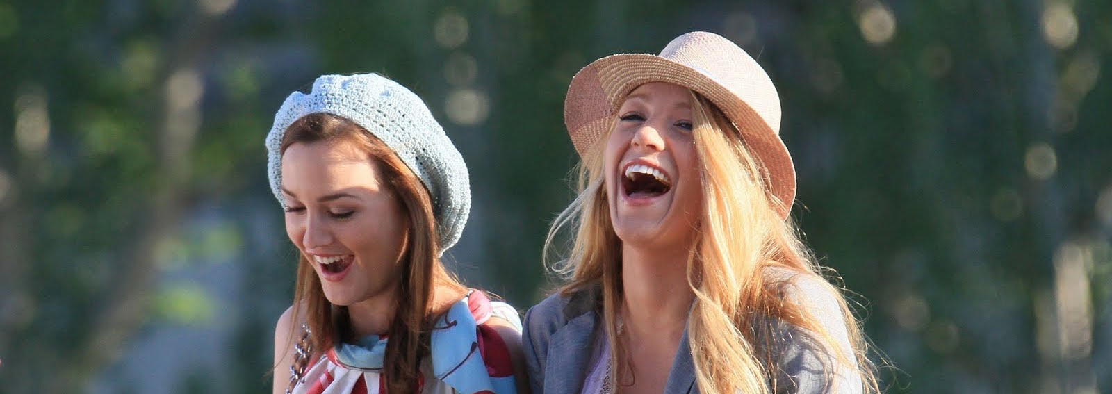 Blair e Serena felici